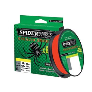 Spiderwire Stealth Smooth 8   Rood 0.15mm   16.5 kg